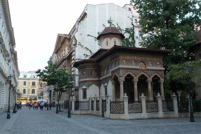 Biserica Stavropoleos - Casco Histórico de Bucarest