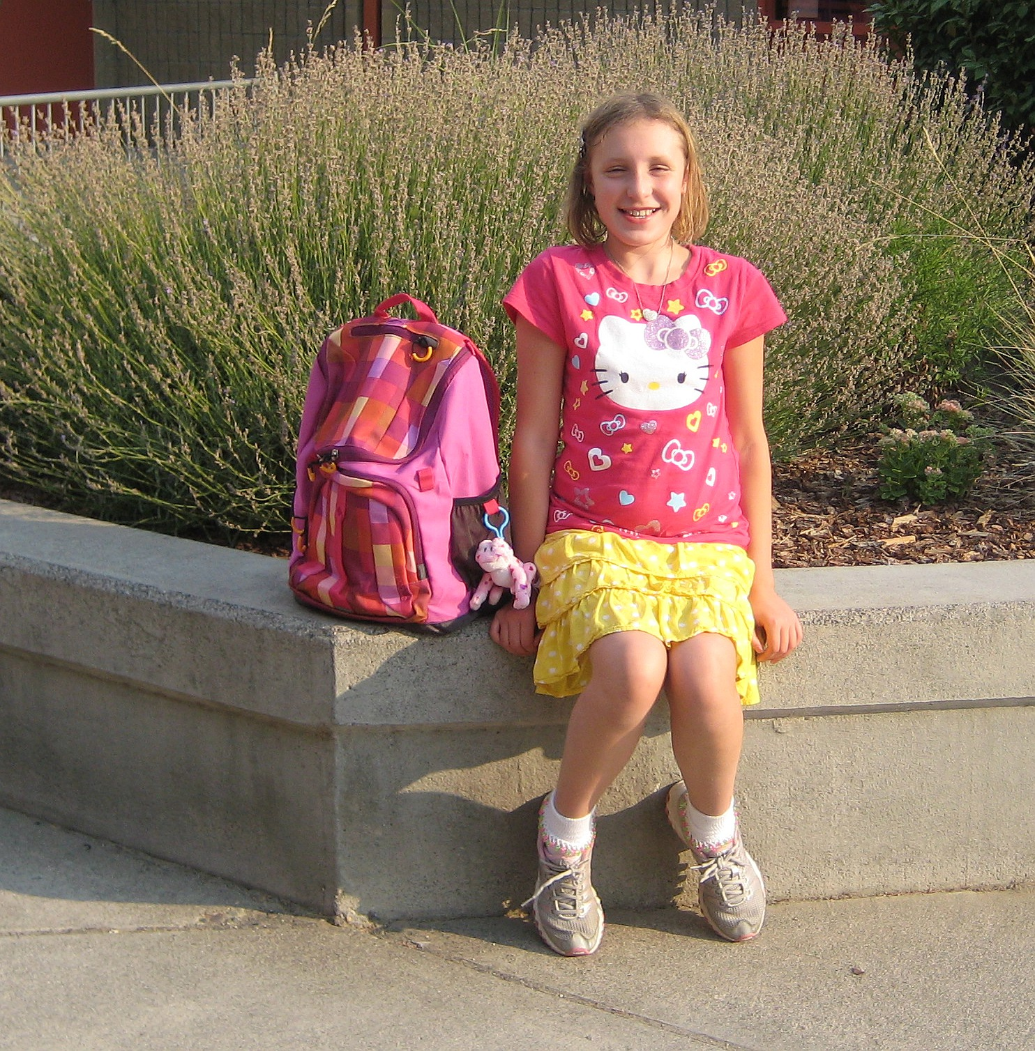 Moore out of Everything: First day of 4th Grade!