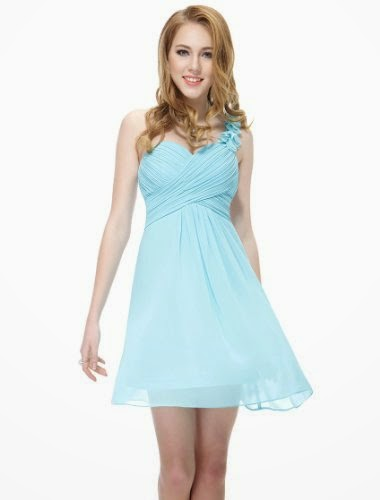 Ever Pretty Women's One-Shoulder Bridesmaid Dress