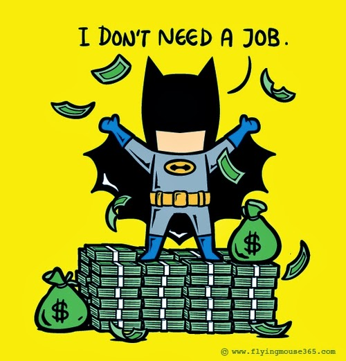 08-Batman-Does-Not-Want-To-Work-Illustrator-Chow-Hon-Lam-Superheroes-Part-Time Jobs-www-designstack-co