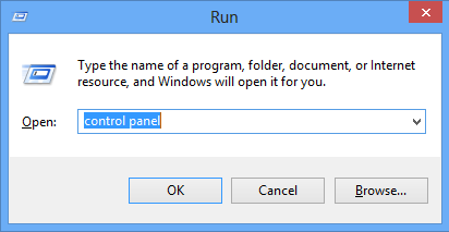 Kulhead Blog: how to open control Panel In Window 8
