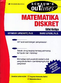 toko buku rahma: buku MATEMATIKA DISKRET EDISI KETIGA, pengarang seymour lipschutz, penerbit erlangga