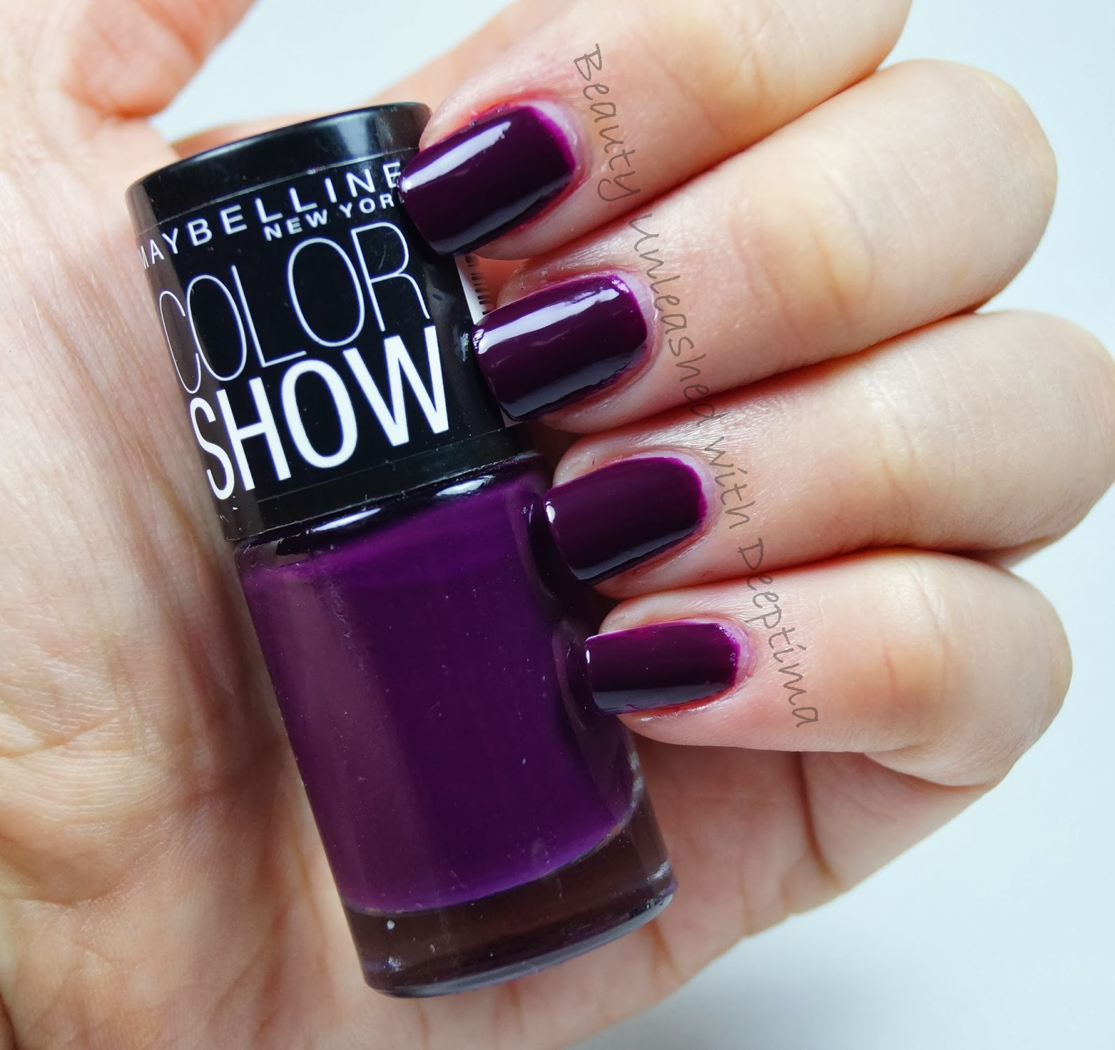 Simply Deeptima | Beauty and Lifestyle Blog: Maybelline ColorShow ...
