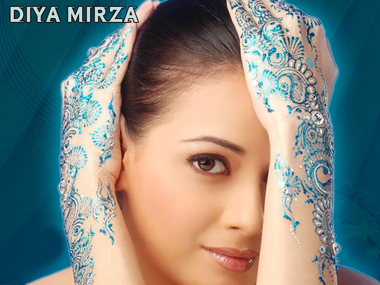 Mehndi Diya Photo : Diya mirza hot hd wallpapers p free download