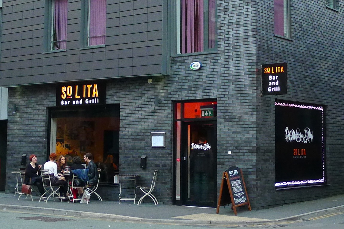 Hungry hoss solita bar grill manchester - Restaurant bar and grill ...