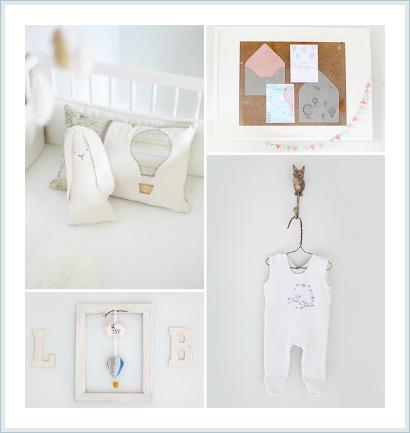 habitación bebé tonos pastel / www.anabelarthome.blogspot.com