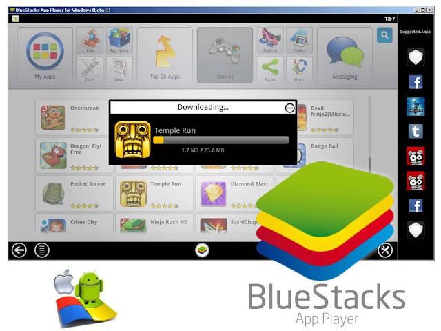 bluestacks app player project