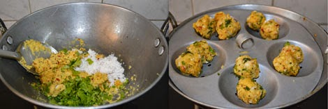 making Paruppu Urundai