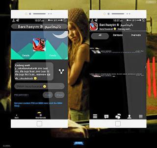 BBM MOD BlackCherry VERSI 2.8.0.21 APK Free!