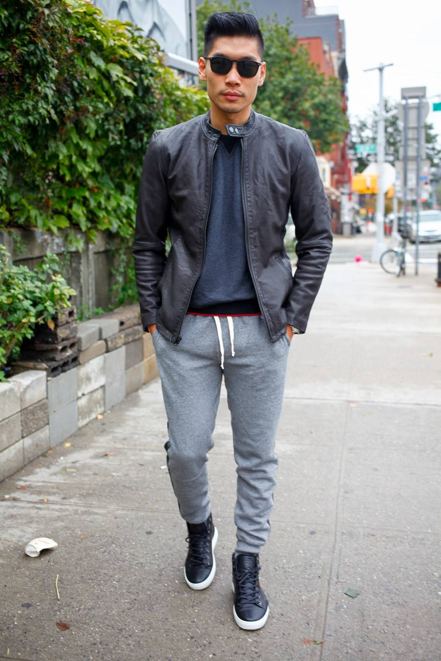 Stylish Sweats, Winter, Todd Snyder NY, Ace Rivington, Ecco, Timex, menswear