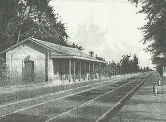 La estación Ramos Mejía en 1903