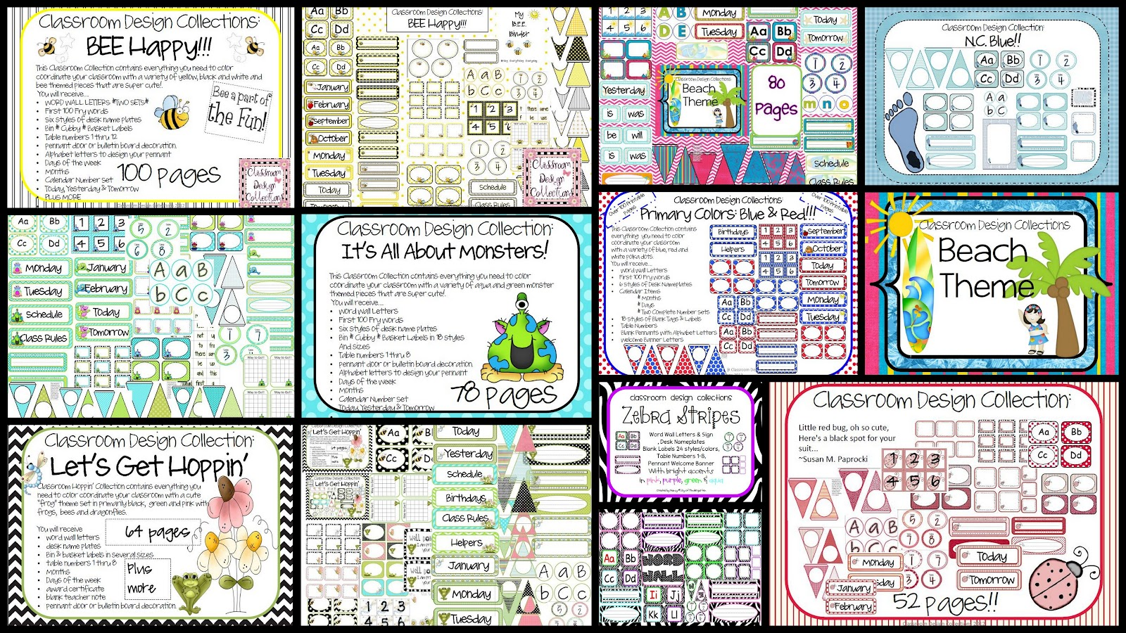 Joy of Kindergarten: Back to School Blog Hop!! Join in the Fun!!
