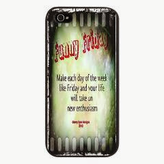 Funny Friday Enthusiasm iPhone 5 Case
