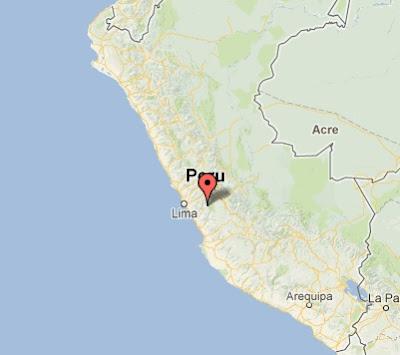 temblor hoy en Lima 3 noviembre 2012