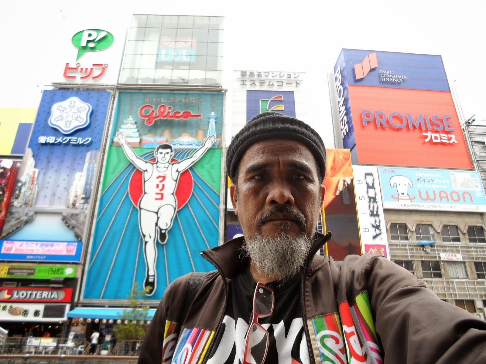 Glico Osaka Jepun