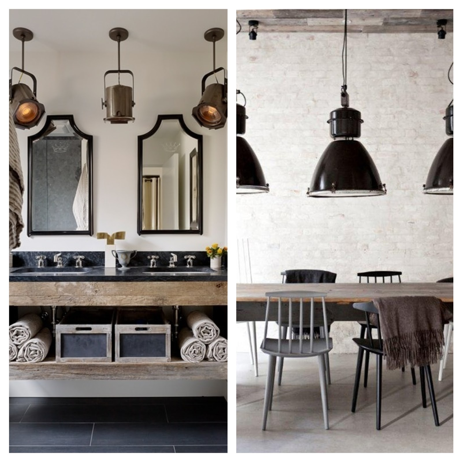 Trend Alert Industrial Chic Lighting