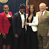 Ne-Yo's fiancée Crystal Renay  bashed on social media for this inappropriate outfit she wore to go meet the Governor of Georgia