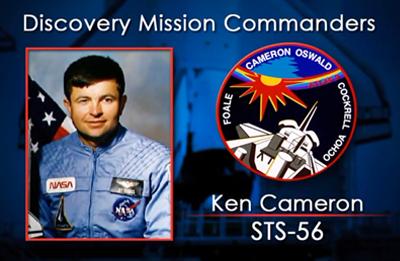 Ken Cameron 1993 (STS-56). NASA 2012.