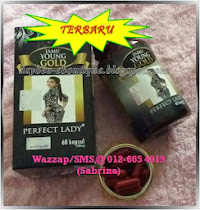 TERBARU! Jamu Young Gold Perfect Lady