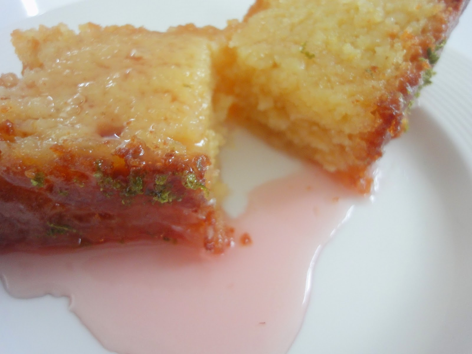 citrus ricotta loaf cake with rum & sugar dipped strawberries