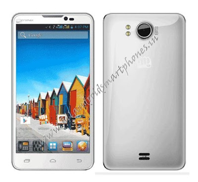 Micromax Canvas Doodle A111 Dual Sim Front & Back photo & Image Review
