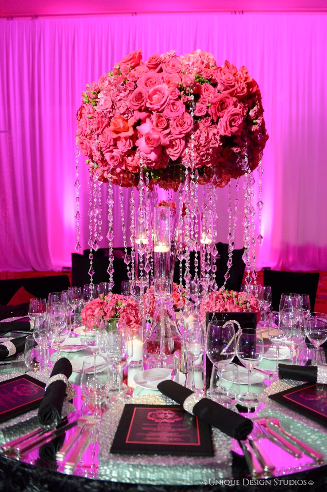 Tiffany cook events omg las vegas wedding reception