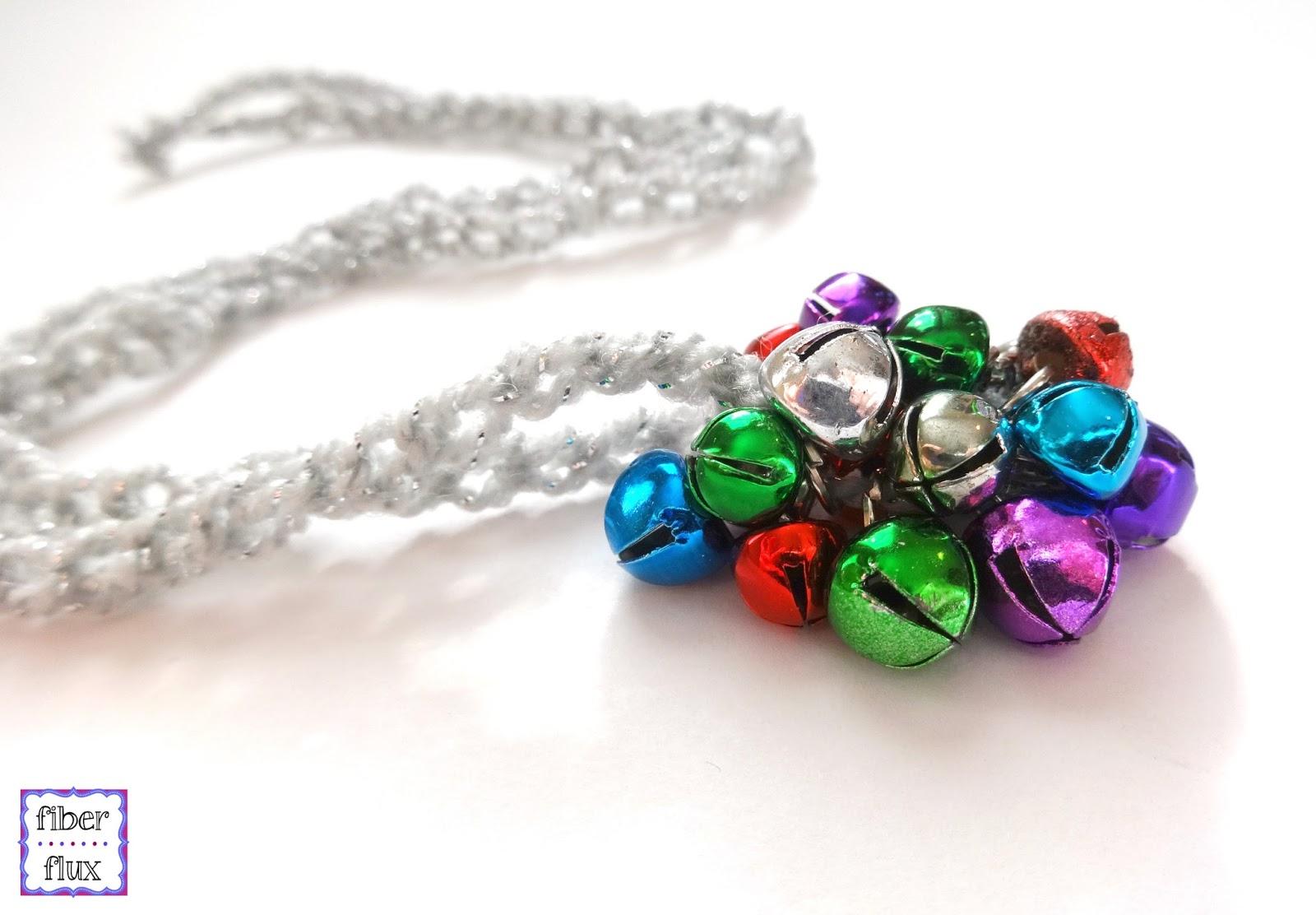 Fiber Flux: Free Crochet Pattern...Jingle Bell Pendant Necklace!