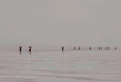 Los pilotos no querían largar en el Salar de Uyuni