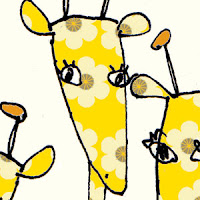 girafes children's cards liz and pip ltd