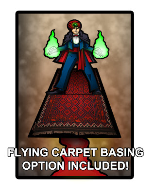 Amazing Zandi Flying Carpet Base