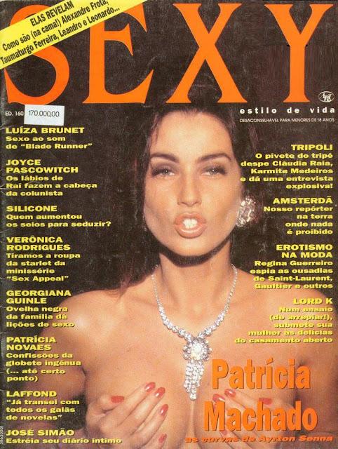 Patrícia Machado - Sexy 1993