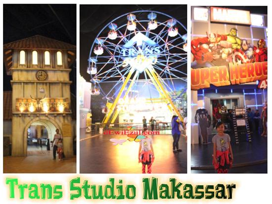 dzarifa jalan jalan ke Trans studio makassar (TSM)