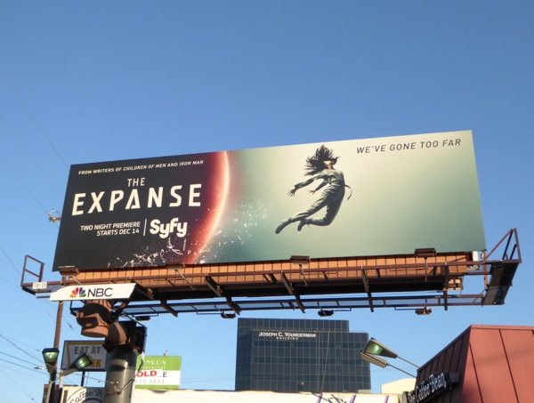 The Expanse series premiere billboard