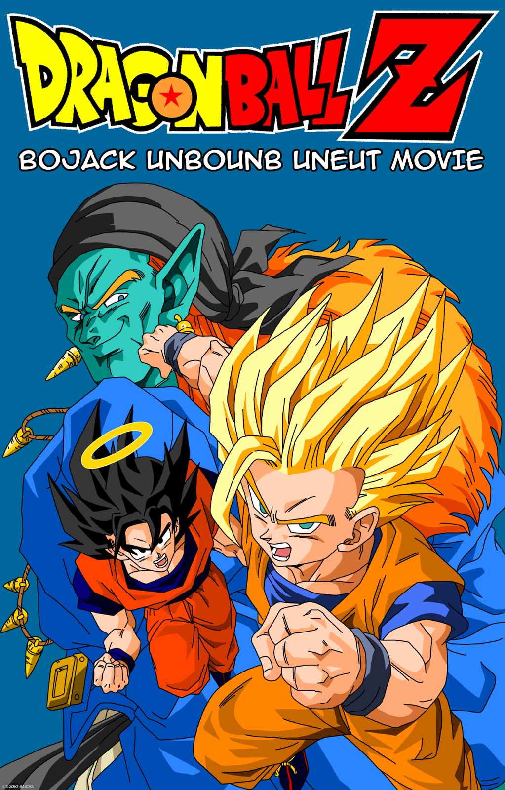dbz bojack rebound movie cover picture image