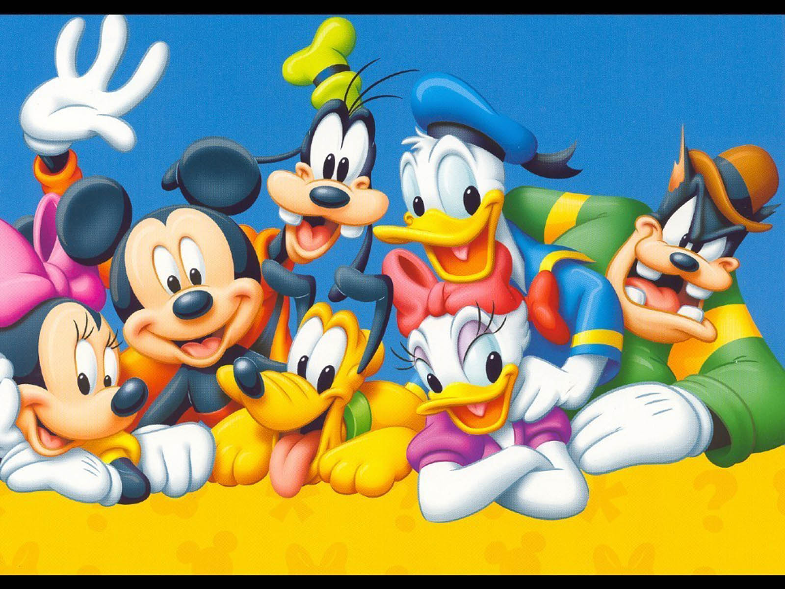 Wallpaper Mickey Mouse