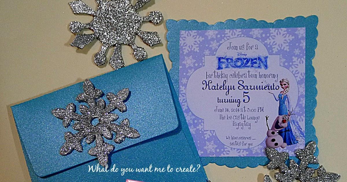 Square Invitation for good invitation design
