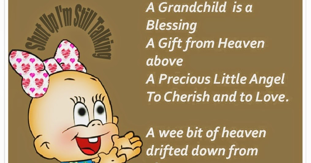 A Grandchild is a Blessing a Gift from Heaven