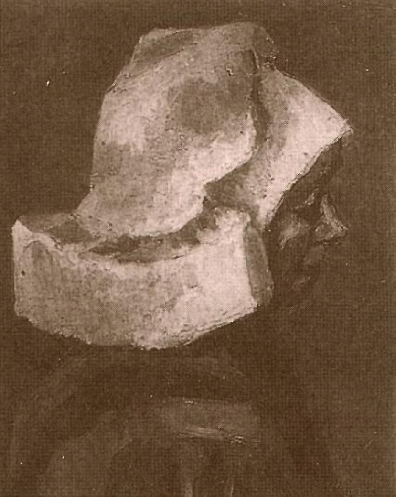 Head of a Peasant Woman with White Cap (F 144, JH 561) by Vincent van Gogh