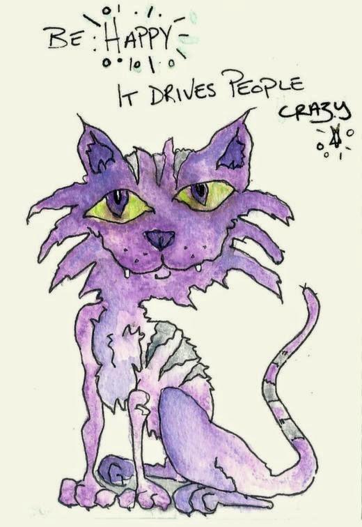 Whoopidooings: Carmen Wing - Wonky Cat