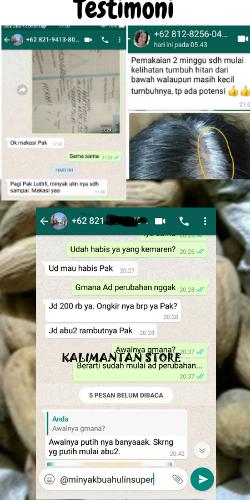 Testimoni Minyak Buah Ulin Super