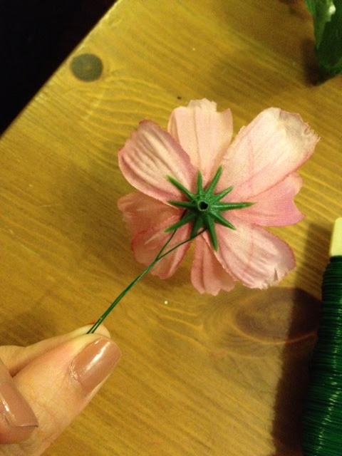 DIY flower headband raw material, making wire stem