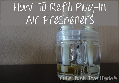 How to Refill Plug-In Air Fresheners