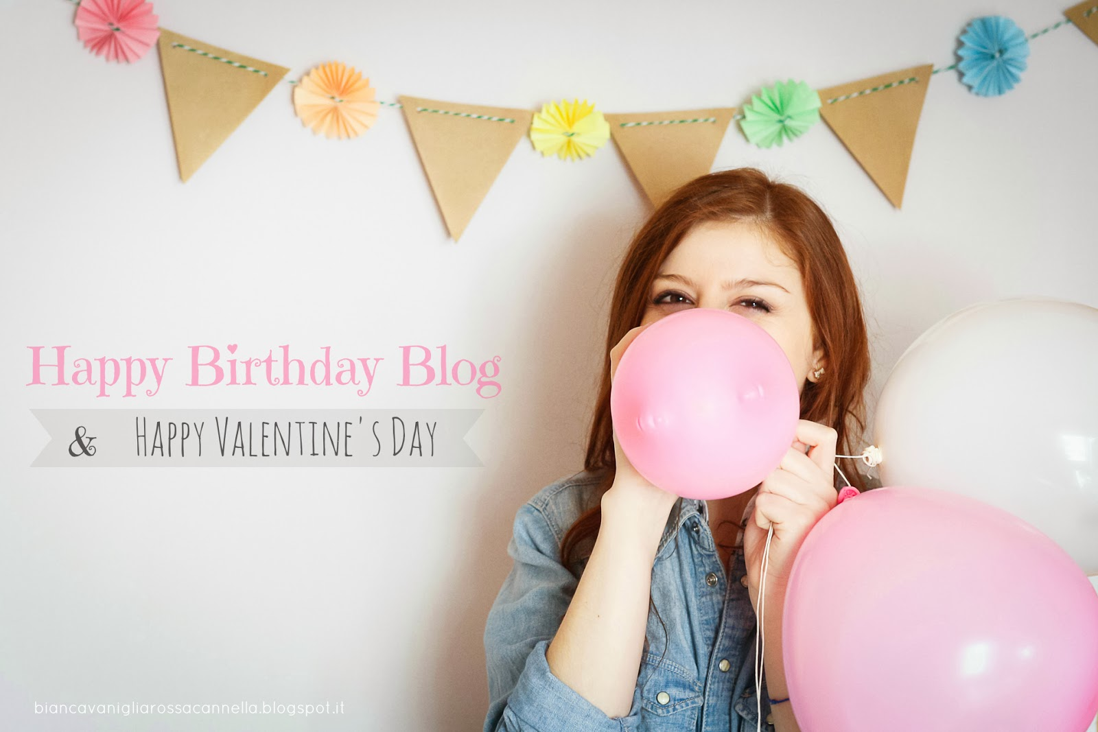 happy birthday biancavanigliarossacannella & happy valentine's day #valentine'sday2