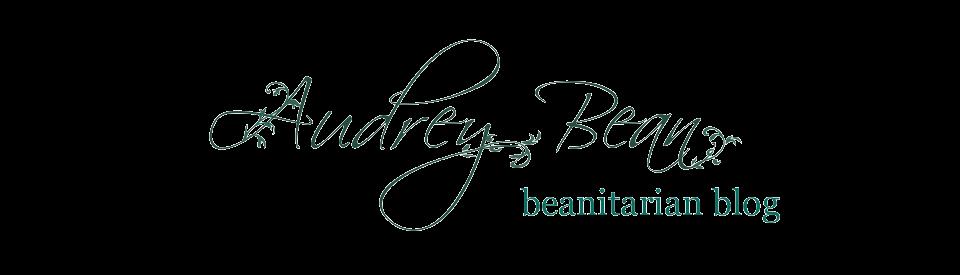 Audrey Bean's Beanitarian Blog