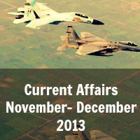 Current Affairs November- December 2013