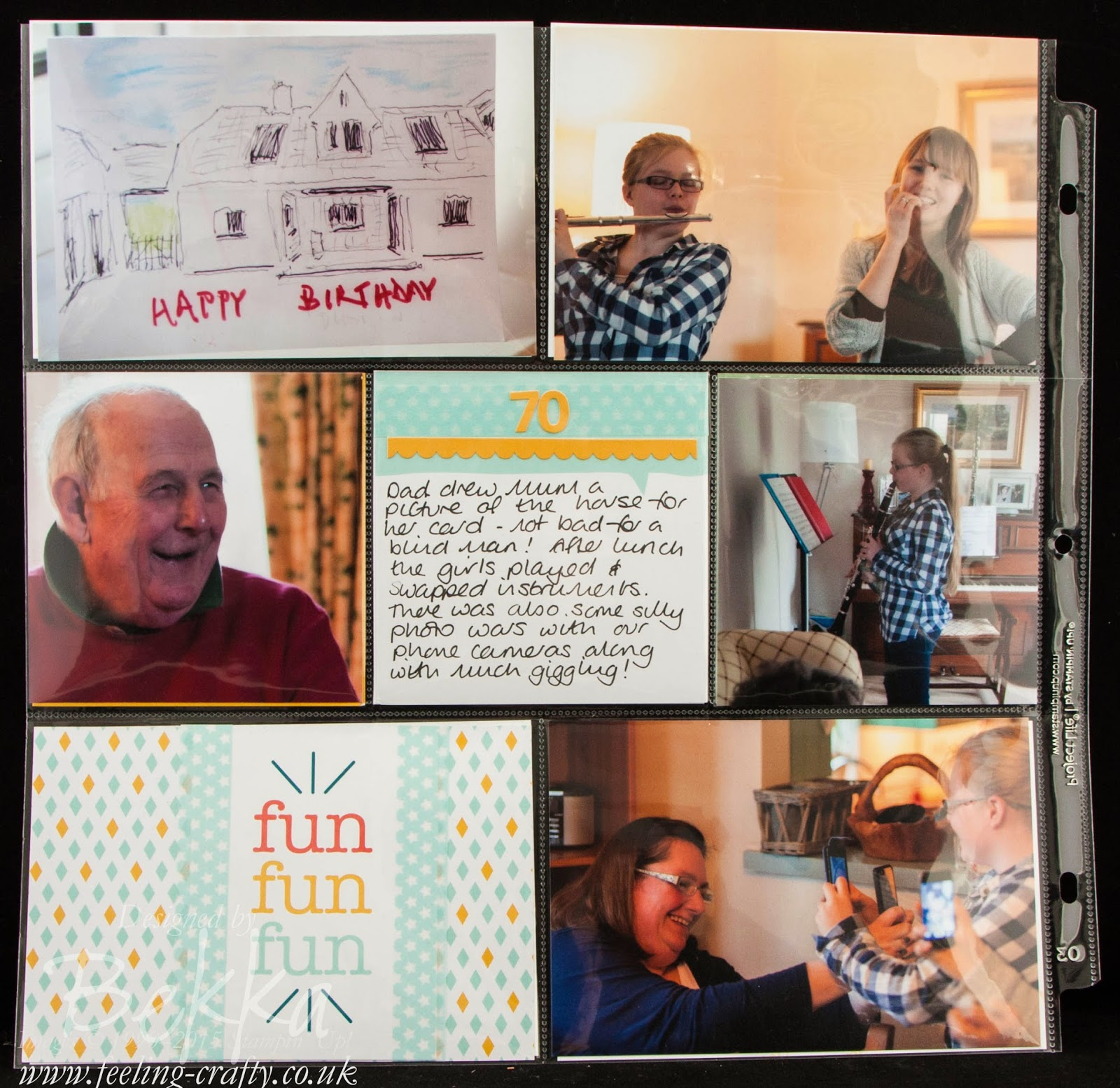 Project Life by Stampin' Up! - Documenting A Special Weekend - check it out here