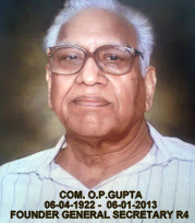 COM. O.P.GUPTA EX SG NFPTE &amp; FOUNDER GS R4