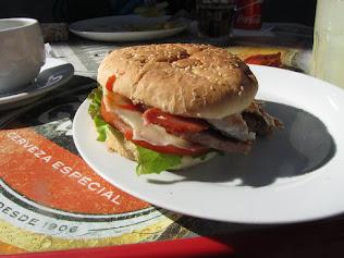 hamburguesa con queso, hmmmm lekker
