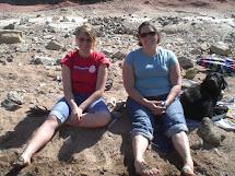 Girls Feet In Mud