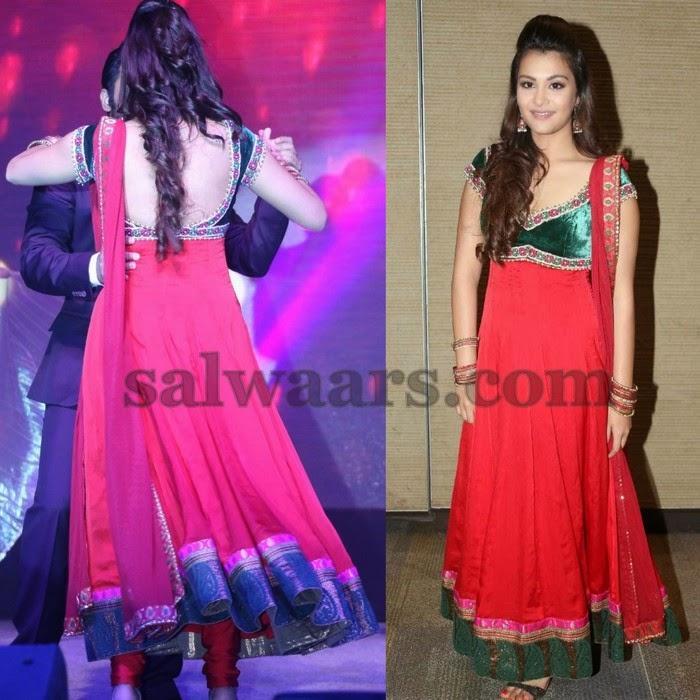 Nazia Floor Length Salwar